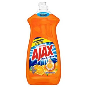 Ajax Ultra Triple Action Liquid Dish Soap Orange - 28 fl oz : Target