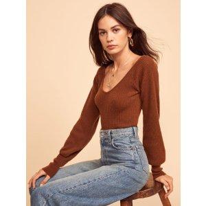 ReformationHart Cashmere Sweater