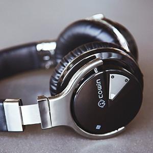 史低价! $46.99 (原价$89.99)手慢无:COWIN E7 主动降噪 Hi-Fi重低音 蓝牙无线耳机