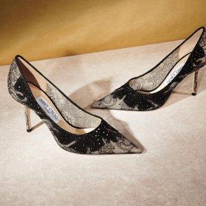 低至5折 $425收Love高跟鞋Jimmy Choo 优雅高跟鞋专场 $648收封面绝美高跟鞋