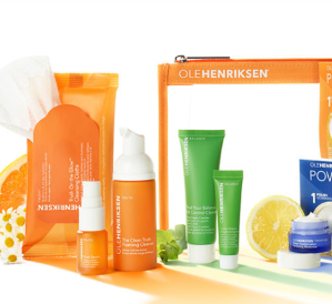 Free 9 Piece GiftWith $50 Purchase @ Ole Henriksen