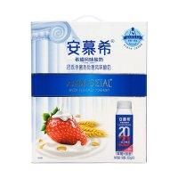 安慕希 希腊风味酸奶 草莓燕麦味 200g*10瓶