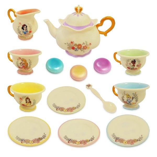 迪士尼公主图案 下午茶玩具套装