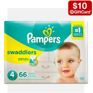 Buy 2 Get $10 Gift CardTarget Select baby diapers Sale