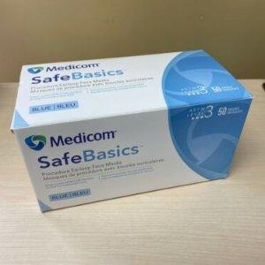 50个$18.5(原价$22)+满额减$10最后一天:Medicom Level 3 三层医用口罩 中国制造
