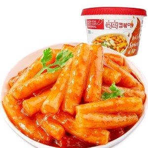 (买二送一)韩国辣年糕辛辣原味方便速食杯装163g