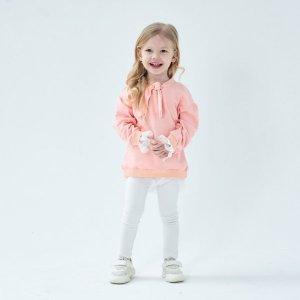School Wear Sweatshirt Dress – Pink