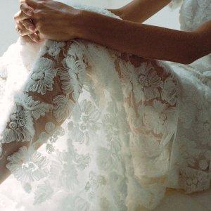 低至4.5折+额外8.5折Self-Portrait 美衣仙裙热卖 清新花朵连衣裙$233
