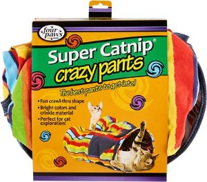 Four Paws Super Catnip Crazy Pants Cat Tunnel - Chewy.com