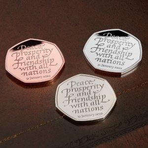 £10起收 收藏价值UpThe Royal Mint 热门英国纪念币汇总 收脱欧币、生肖币、彼得兔
