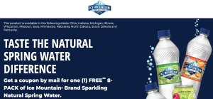 Ice Mountain® Brand Sparkling Natural Spring Water