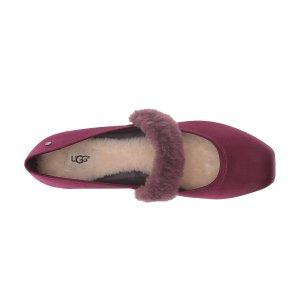 $32.54(原价$110)UGG  女款毛绒平底鞋7码低价热卖