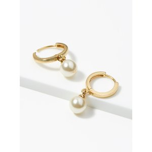 Orelia满$175立减$25珍珠耳环