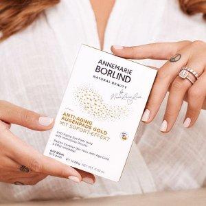 限时8折 仅€2每对上新:安娜柏林 抗皱黄金眼膜 平滑 保湿 紧肤 传说中的瞬间去纹