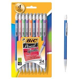 $3.64 销量冠军BIC Xtra-Sparkle 自动铅笔 中细 0.7 mm 24支