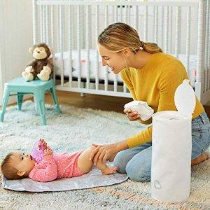 史低价:Munchkin  便携式一次性尿布桶,5个,可容纳150个尿布