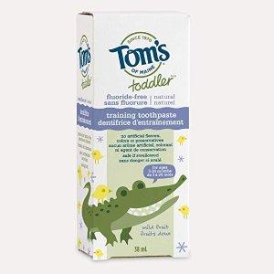 Tom's of Maine 温和无泡幼儿牙膏38ml