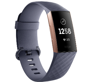 Fitbit Charge 3 Activity Tracker with Heart Rate