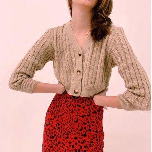 低至3折 £5收短款针织开衫Nobody's Child 英国高街少女美衣 大促升级 速收早春美裙