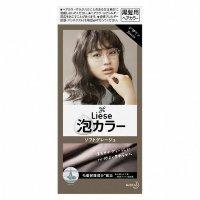 日本 花王 Prettia 染发膏 软灰色4901301363718 19年新色