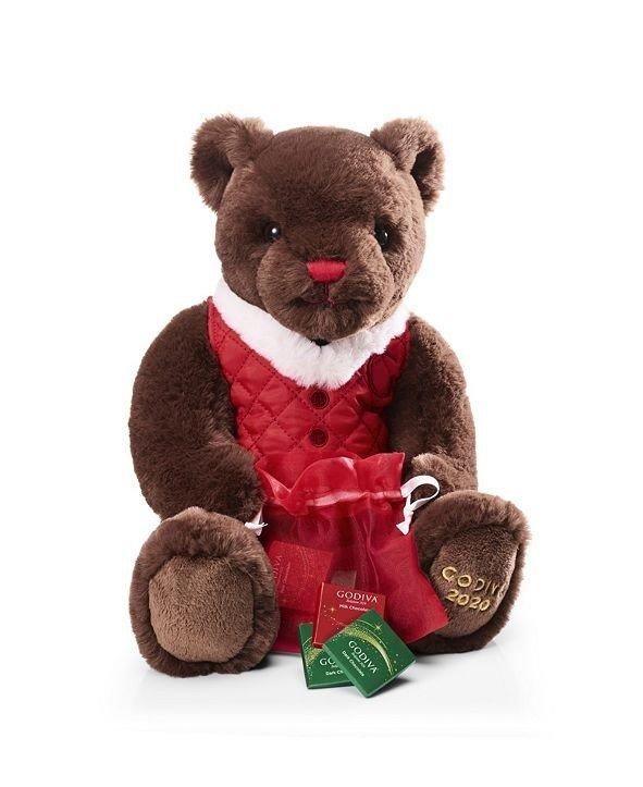 节日限量小熊+巧克力6颗装礼盒