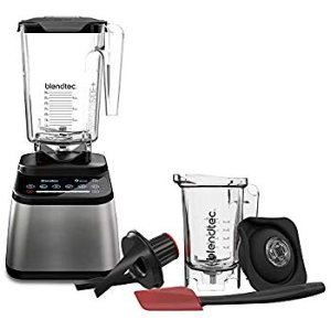 Amazon.com: Blendtec Classic 575 Blender - WildSide+ Jar (90 oz) and Spoonula Spatula BUNDLE - Professional-Grade Power - Self-Cleaning - 4 Pre-programmed Cycles - 5-Speeds - Black: Kitchen & Dining