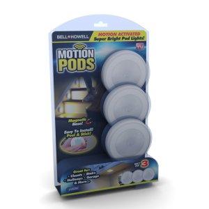 $10.8Bell + Howell Motion Pods