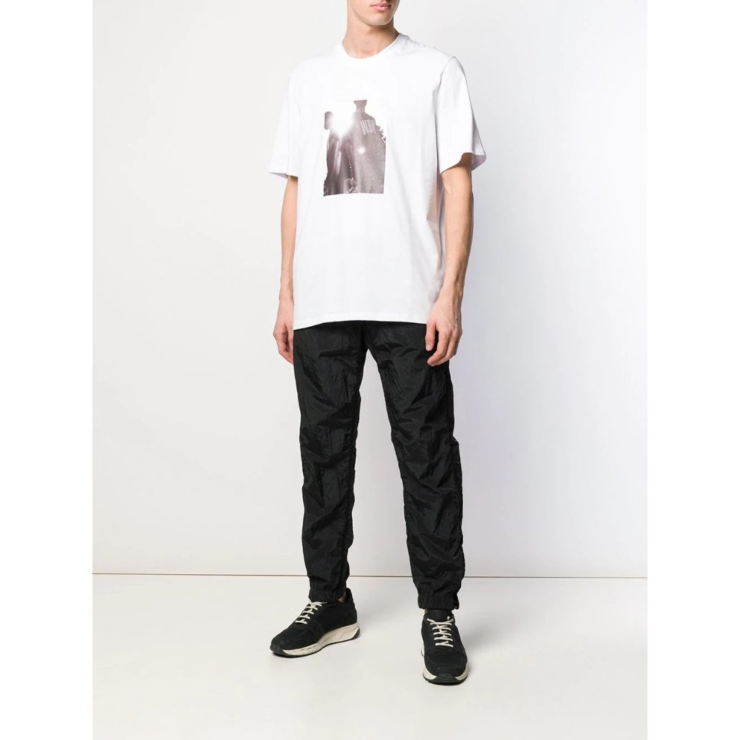 photo-print T恤