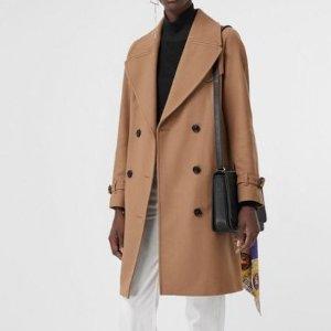 低至5折+最高送$500礼卡延长一天:Burberry 男女服饰热卖 经典格纹
