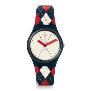 Swatch英伦学院风手表