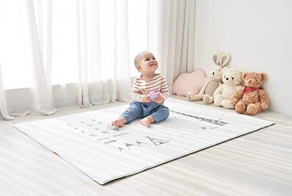 宝宝成长爬行垫