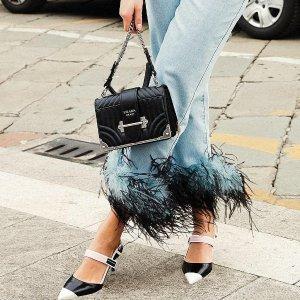 满额立享8折 Valextra、Prada都参加Luisaviaroma 精选大牌新品热卖 Gucci乐福鞋、MB钻扣码全抢
