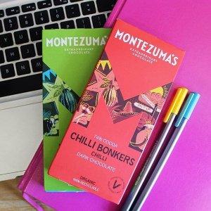 低至8折+全场额外9折即将截止:Montezumas 英国手工奢侈巧克力 夏季全场热促