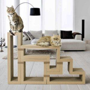 全场$49.95Katris 多功能猫爬架 可作为鞋柜、装饰柜等使用