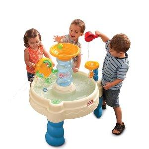 $71.1(原价$87.9)Little Tikes 海洋主题水上乐园游戏桌,清凉夏日最佳玩具