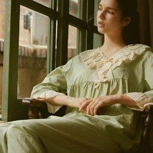 6折起 €60收封面同款ULLALA 复古少女风睡衣、家居服热卖 Joy、宮脇咲良都在穿!
