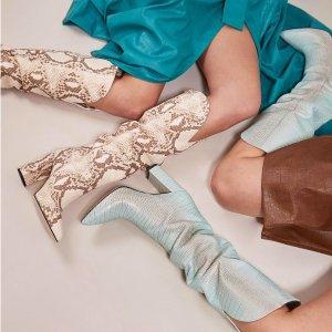 低至4折Farfetch 精选秋冬美靴热卖  收时髦精必备牛仔靴