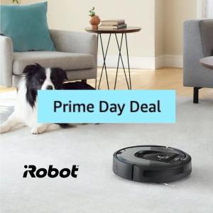 低至3.8折 最高立省€621!Prime Day 狂欢价:iRobot 智能扫地、拖地机器人专场热促