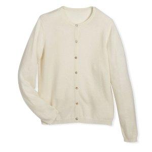 $28Sofia Cashmere 儿童纯羊绒开衫,包邮2色选