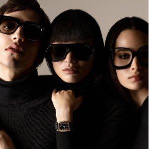 全部墨镜£87!低至2折!Rue La La 全场大牌墨镜热卖 Celine、Ray-Ban、Dior、TF、Fendi都有