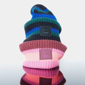 7.5折起 €82收囧脸T恤Acne Studios 全场大促开始 围巾、T恤、开衫冷帽等你入手
