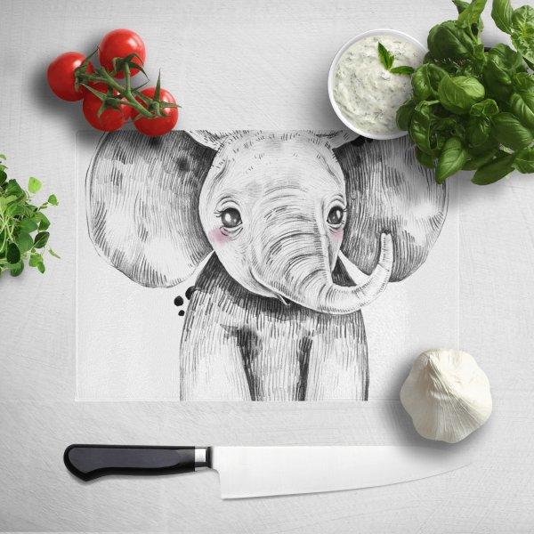 Cute Elephant 砧板
