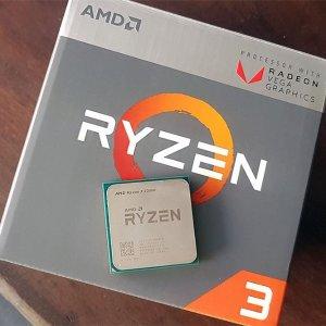 $79.99AMD Ryzen 3 2200G Quad Core AM4 Boxed Processor