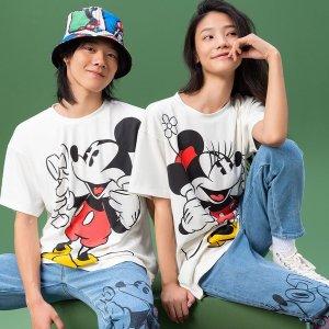 £35起米奇T恤就收LEVI'S x MICKEY 米奇90周年联名开卖!迪士尼新款12月限量上市!