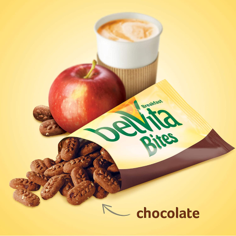 $9.68 + Free ShippingbelVita Chocolate Mini Breakfast Biscuit Bites, Pack of 30