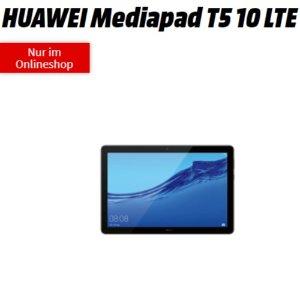 一次性购机费1欧送华为 MediaPad T5Telekom网络,每月10GB LTE 月租14.99欧