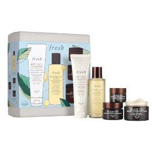 Fresh$163 ValueBlack Tea Firming Skincare Gift Set