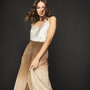 低至3折 $60起Reiss官网 优雅长裙、短裙大促 时髦又高级