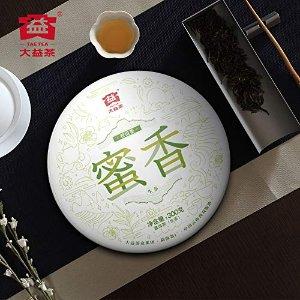 TAETEA 'Nectar' Raw PU'ER TEA Cake Organic Black Tea