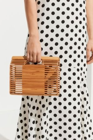 Urban Outfitters Caged Handheld Clutch